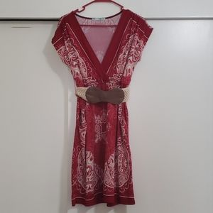 Beautiful red summer dress from Maurices